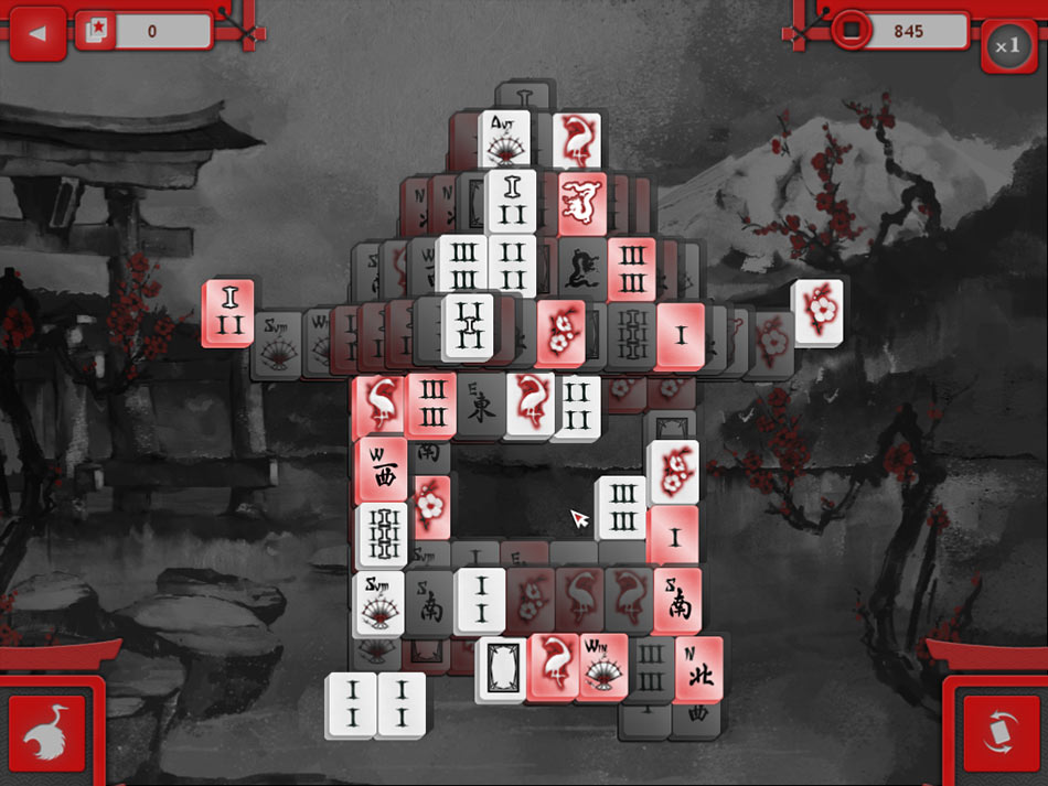 Asian Mahjong screen shot