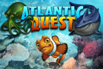 Save all the fish in the sea in Atlantic Quest, an underwater match-3 adventure!
