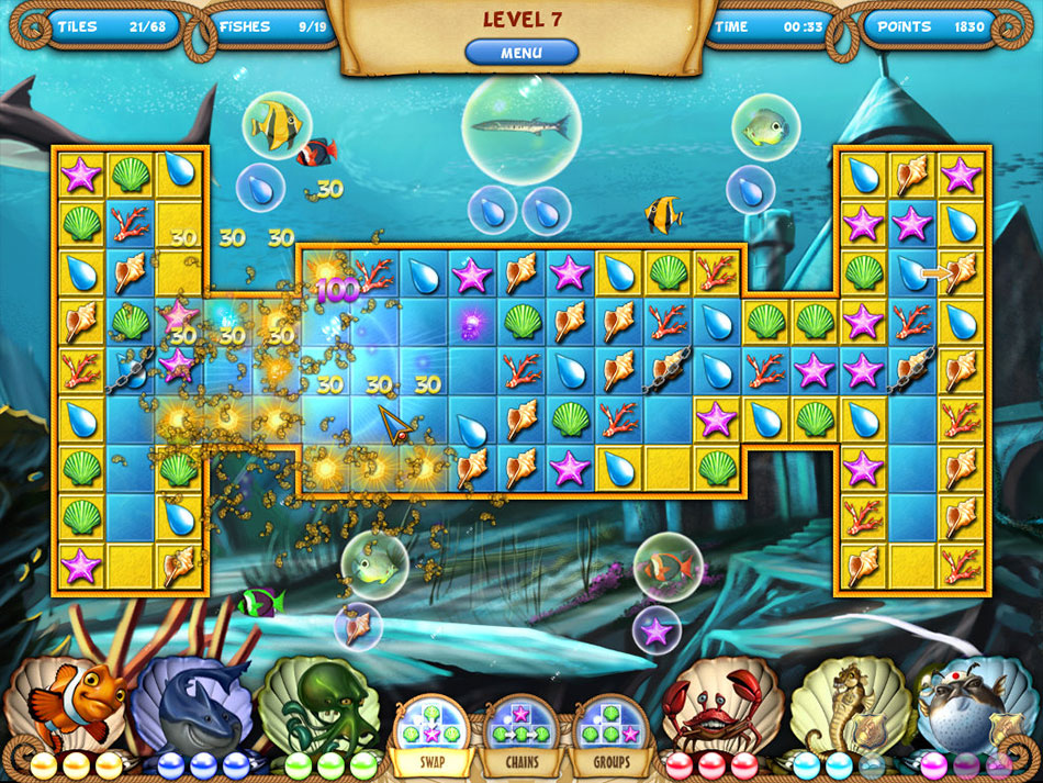 Atlantic Quest 2: The New Adventures screen shot