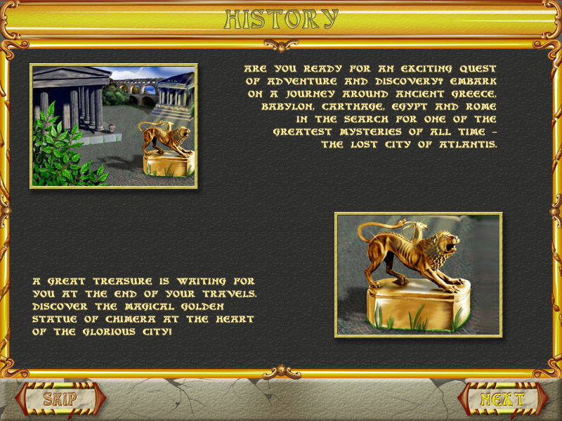 Atlantis Quest screen shot