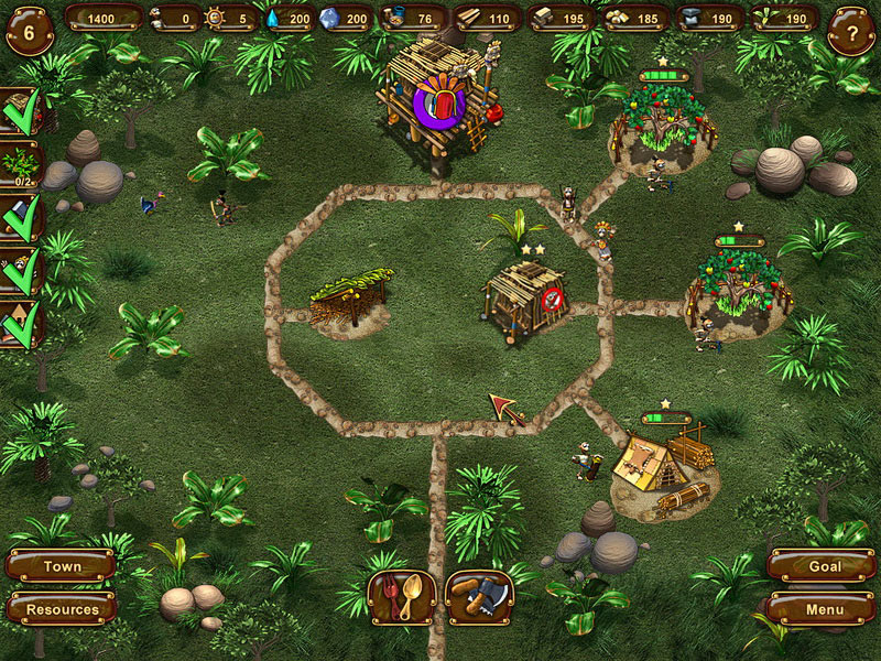Aztec Tribe: New Land screen shot