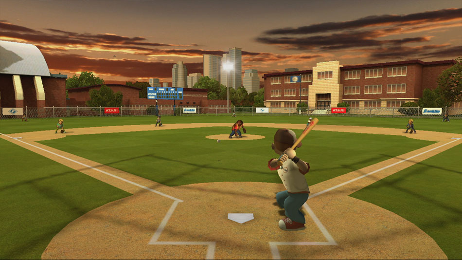 Backyard Sports - Sandlot Sluggers screen shot