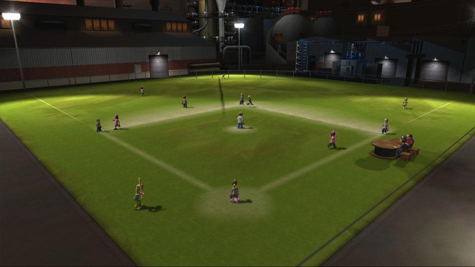 Backyard Sports - Sandlot Sluggers screen shot