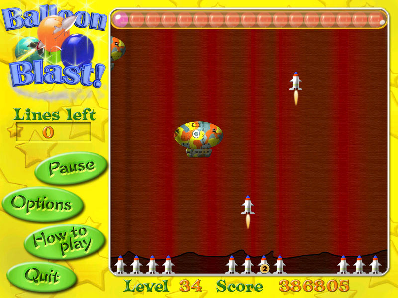 Balloon Blast screen shot