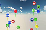 In Balloon Blowout, you must pop the escaped balloons before they get away!  This puzzle game comes with over 40 levels of balloon popping fun!