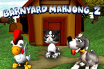 Take a spin around the farm!  Match cute, farm-themed tiles in 3-D layouts in Barnyard Mahjong 2: Around the Farm.