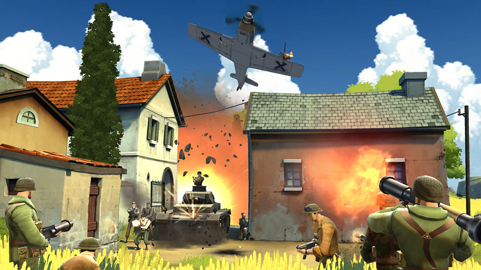 Battlefield Heroes screen shot