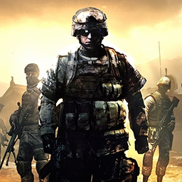 Battlefield Play4Free - Get ready for combat with the FPS Battlefield Play4Free. Customize your soldier as you play with and against your friends online. It's time to fight! - logo