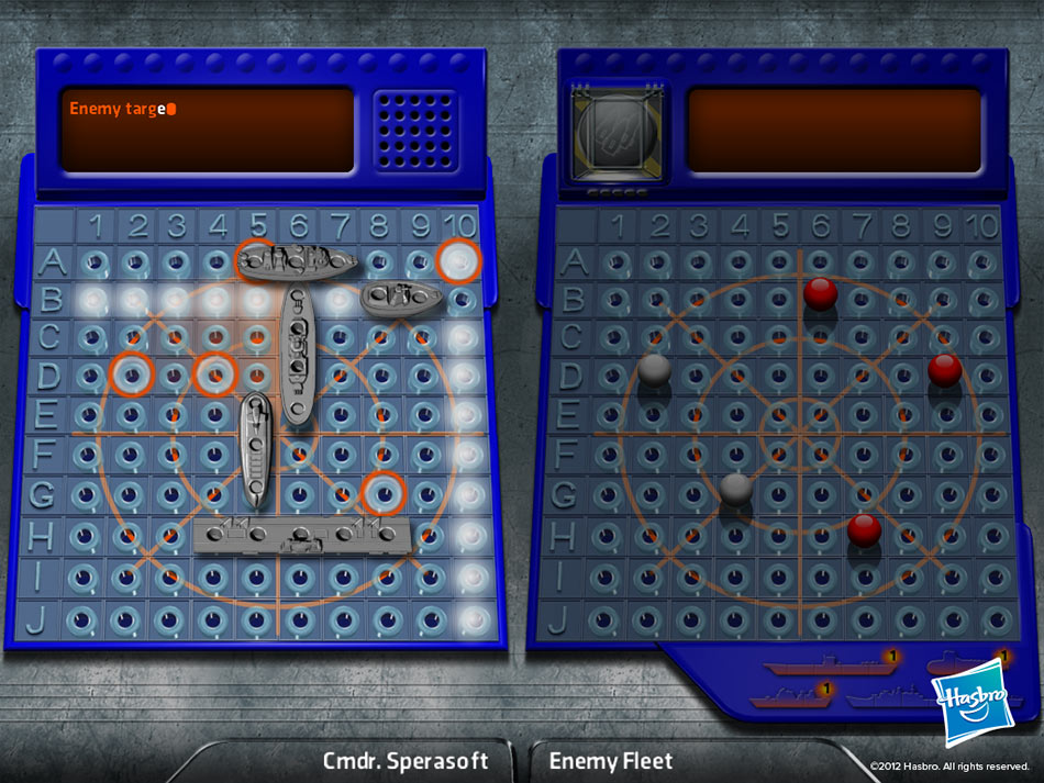 BATTLESHIP screen shot