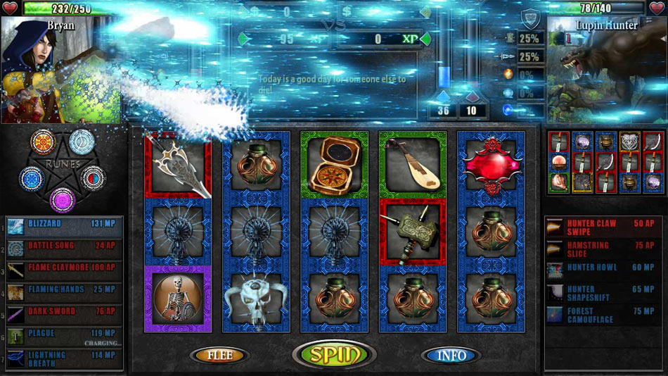 Battle Slots screen shot