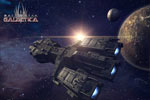Screenshot of Battlestar Galactica Online