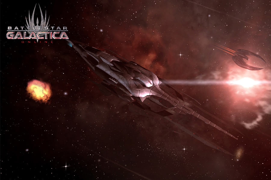 Battlestar Galactica Online screen shot