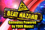 Beat Hazard is a new gaming experience - gameplay powered by your music!