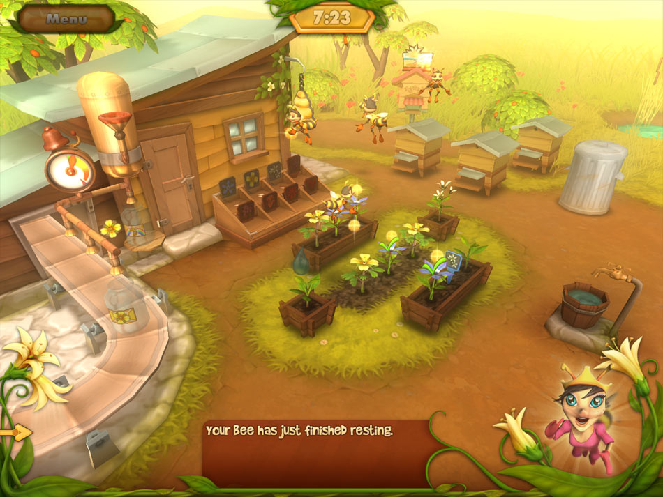 Bee Garden screen shot