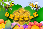Help a hive of bees by feeding them pupae and making honey.