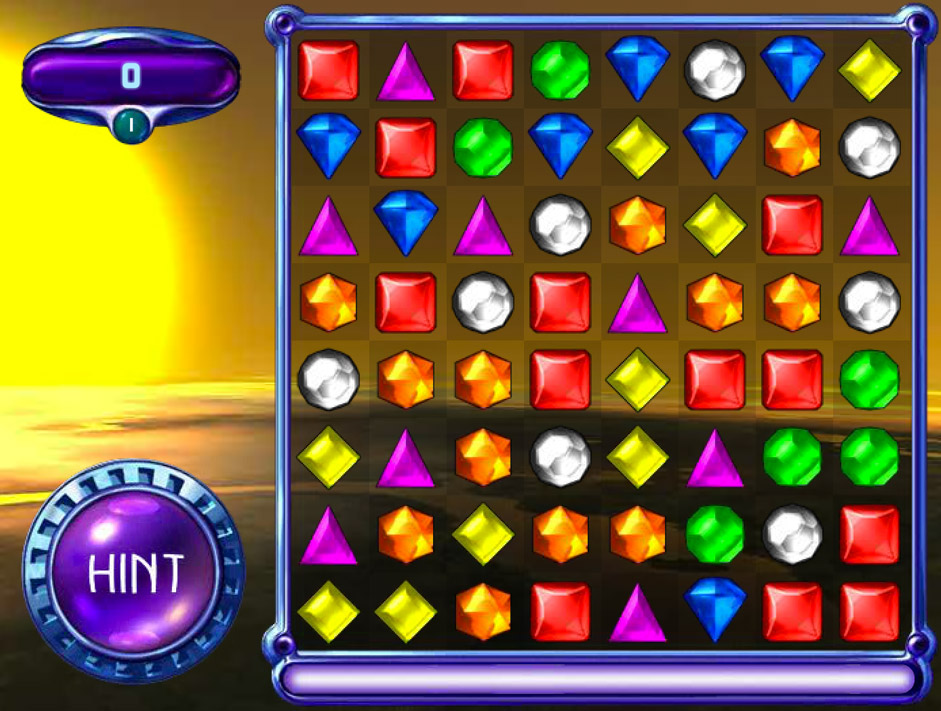 free bejeweled ed games