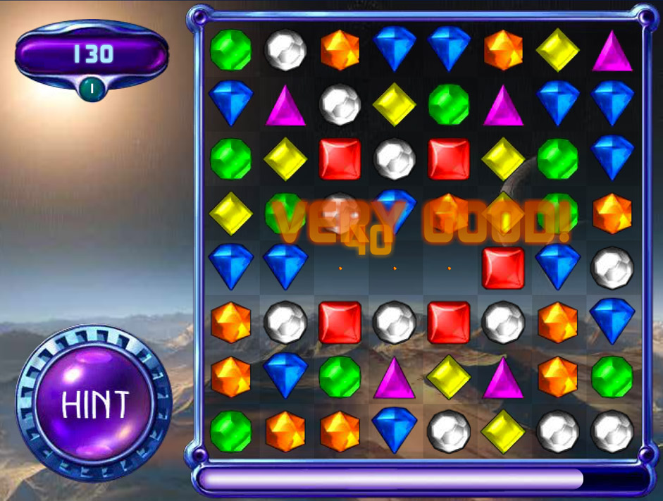 Cash Tournaments - Bejeweled® 2 screen shot