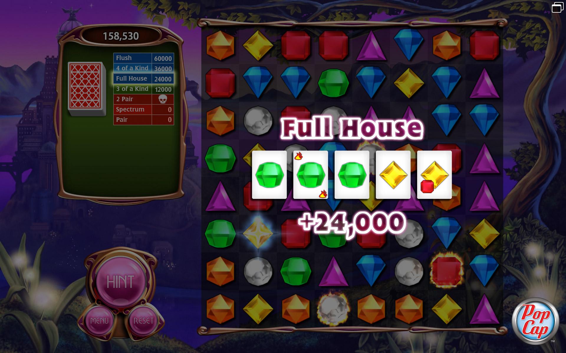 Bejeweled 3 screen shot