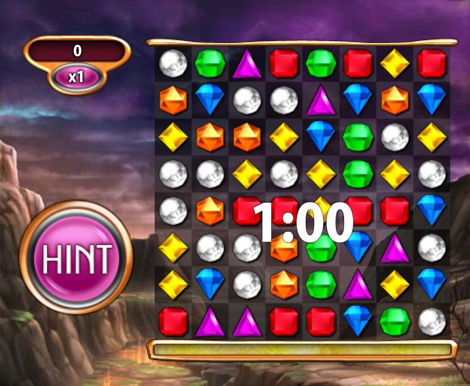 Cash Tournaments - Bejeweled® Blitz: Rubies and Riches screen shot