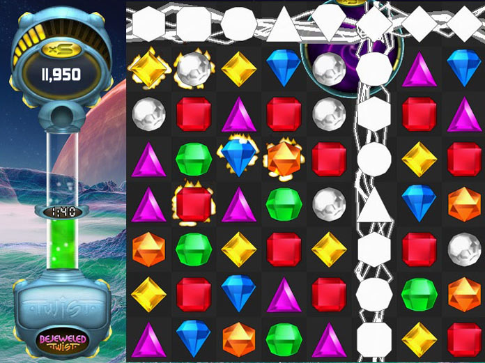 Cash Tournaments - Bejeweled Twist screen shot