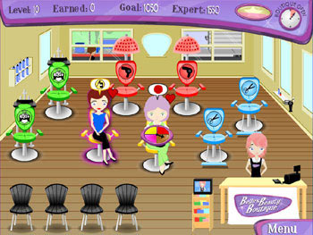 Belle's Beauty Boutique screen shot