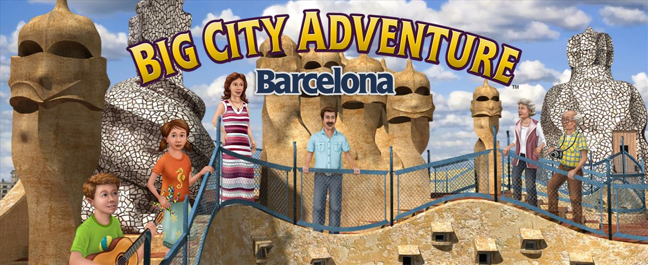 Big City Adventure: Barcelona - Visit vibrant Barcelona!