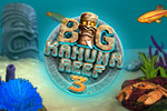 Dreaming of a Hawaiian vacation? Pack your bags and dive into the latest installment of this popular match-3 series: Big Kahuna Reef 3!
