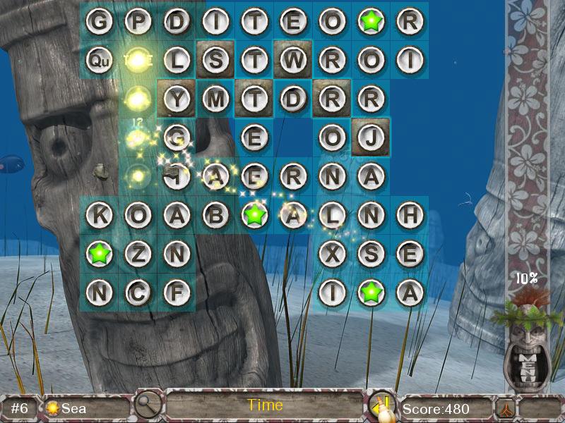 Big Kahuna Words screen shot
