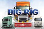 In Big Rig Europe, haul a heavy load across real places in Europe!