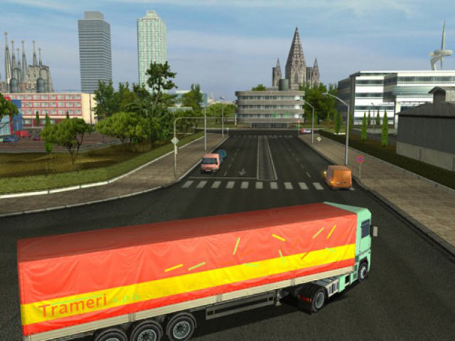 Big Rig Europe screen shot