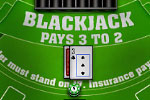 This free version of Blackjack brings Las Vegas to you with the setting and rules of a casino table!