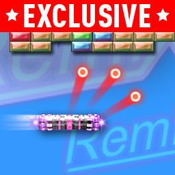Blasterball 2: Remix - Go retro in this Miami version with 200 levels of neon fun! - logo