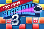 Load up your MP3's for the newest twist on the classic Blasterball series!