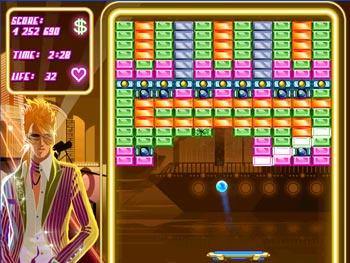 Block Breaker Deluxe screen shot
