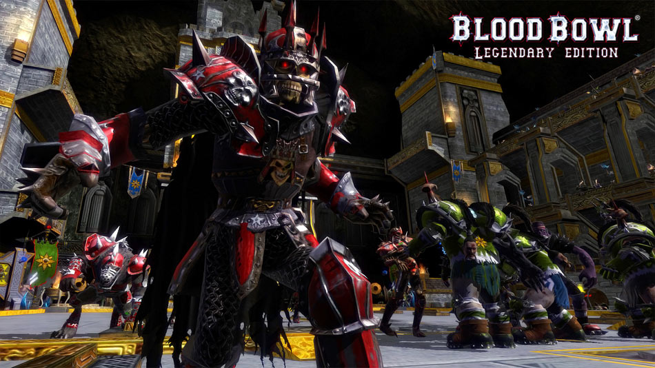 Blood Bowl Legendary Edition screen shot