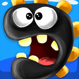 Bomb The Monsters! HD - Bomb The Monsters! HD will have you blowing The Monsters off their platforms with your bombs in this arcade game! - logo