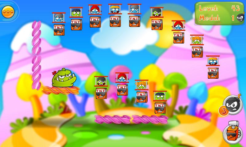 Bomb The Monsters! HD screen shot