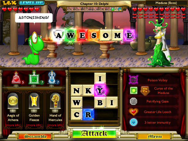 Bookworm Adventures screen shot
