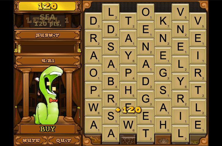 Cash Tournaments - Bookworm screen shot