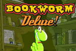 The bookworm boogies down in a game wrigglin' with fun: Bookworm Deluxe!