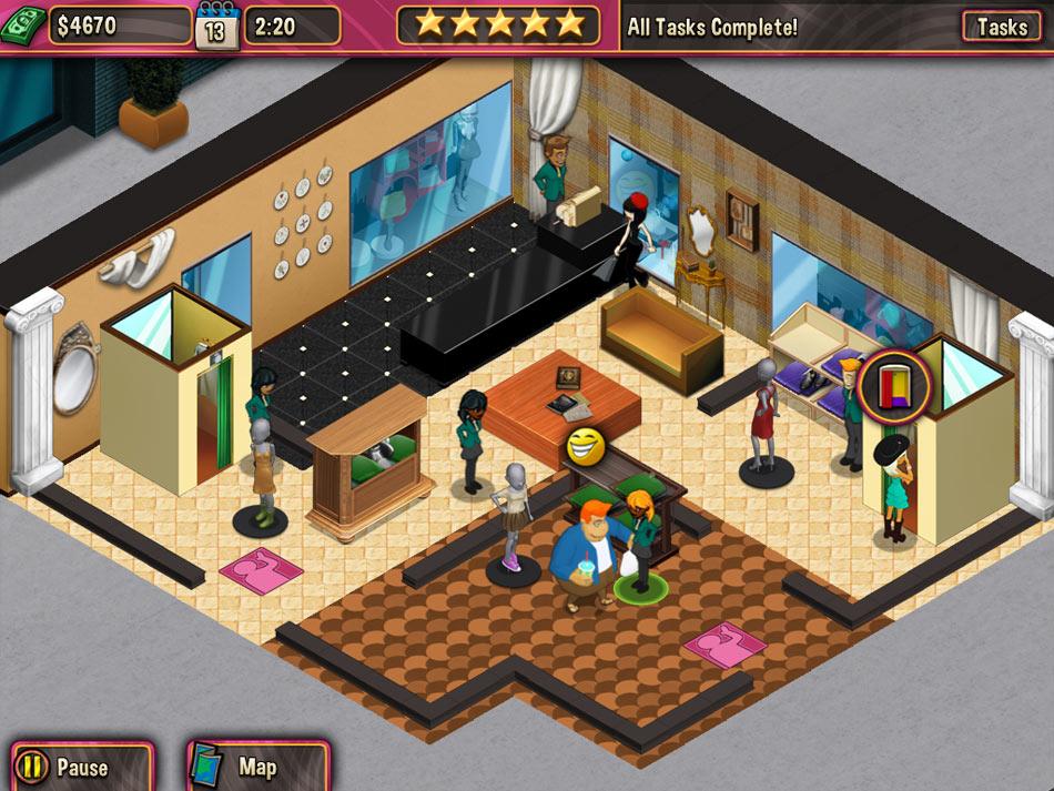 Boutique Boulevard screen shot