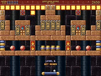 Bricks of Egypt screen shot