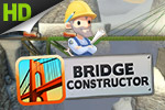 Construct a bridge, put it to the test by driving cars and trucks over it, and unlock the next brain-teasing level in Bridge Constructor!