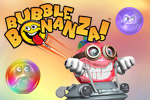 Enjoy 3 game modes and hours of bubble-bursting fun in Bubble Bonanza.