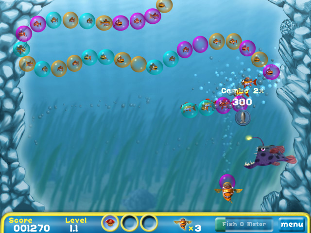 Bubblefish Bob screen shot