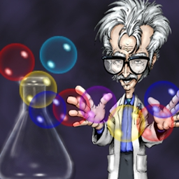 Bubbles - Can you keep Dr. Stein's test tubes from bubbling over? - logo