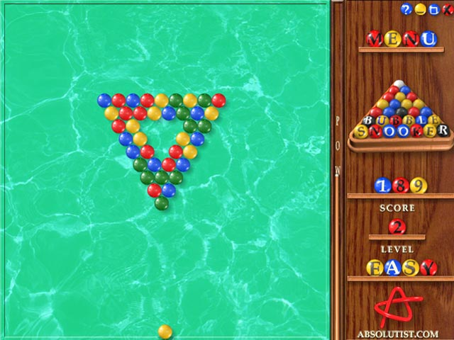 Bubble Snooker screen shot