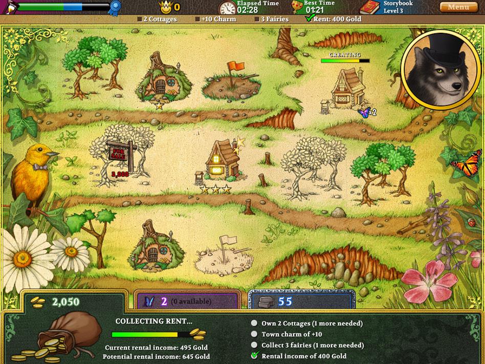 Build-a-lot Fairy Tales screen shot