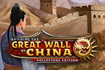 Protect your empire and build the greatest structure in the world in this time management game - Building the Great Wall of China Collector's Edition.