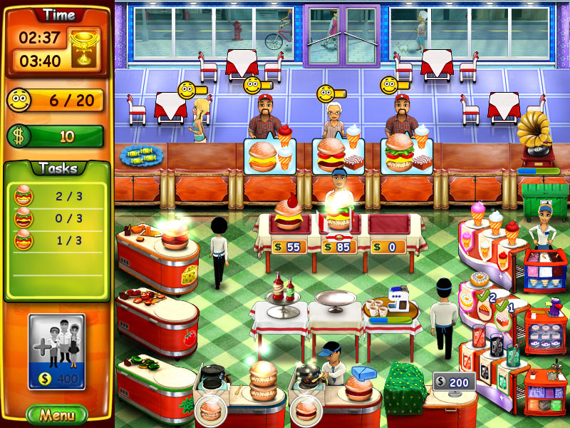 Burger Bustle screen shot
